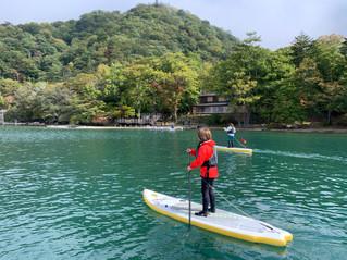 中禅寺湖1daySUP!