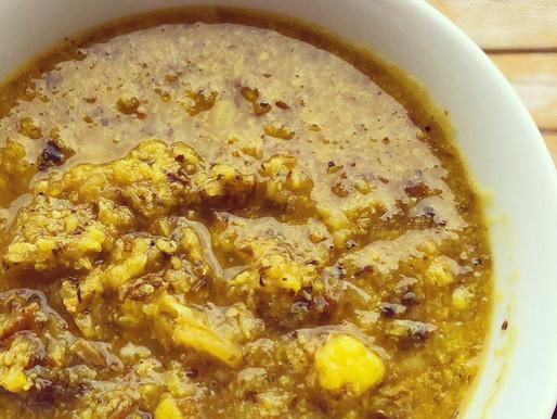 Anti-inflammatory cauliflower mushroom soup