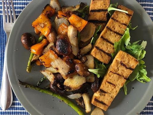 Simple BBQ Tofu