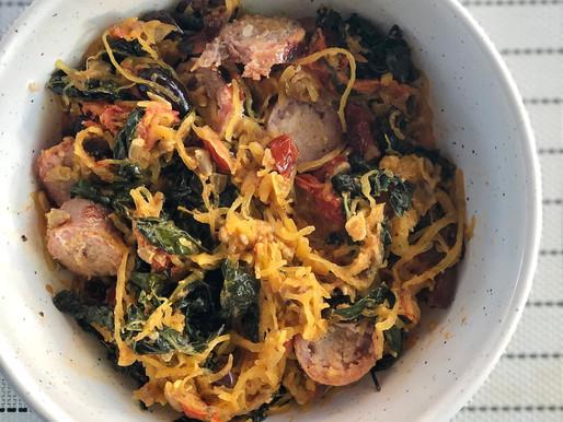 Loaded Italian Spaghetti Squash