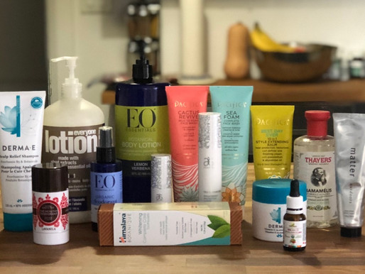 My journey to a cleaner personal care & beauty routine.