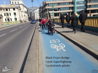 How cycle lanes should be...and how they shouldn't!!