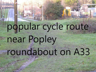 Why Hampshire County Council does not provide for cycling