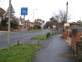 Dangerous Cycle routes to nowhere