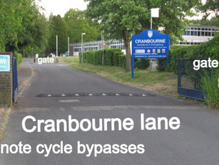 Cranbourne Lane is a Right of Way? or is it?