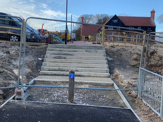 Cycling the steps - the new cycle route challenge