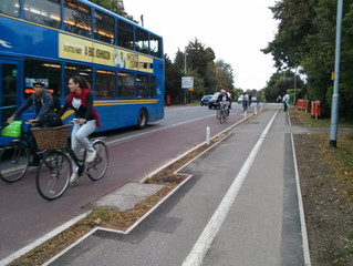 MORE DANGEROUS CYCLE ROUTES PLANNED, REAL CYCLE ROUTES POSSIBLE