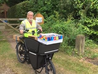 E-cargo bikes charge ahead