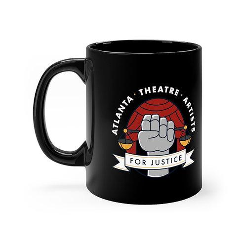 ATAJ Black Mug
