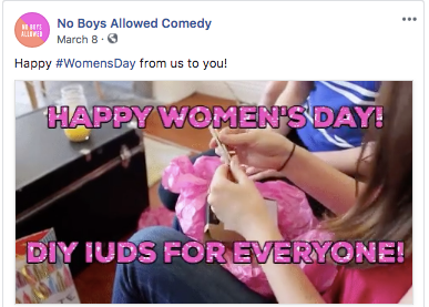 No Boys Allowed Comedy