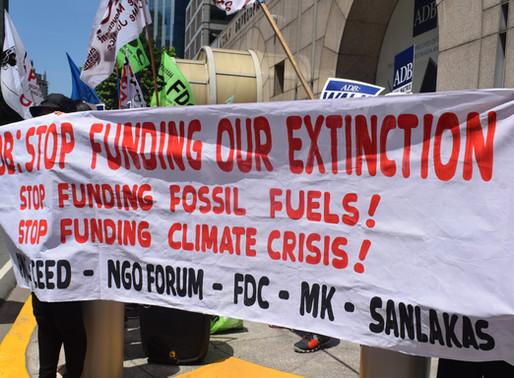 Asian Development Bank (ADB) should start Decarbonizing