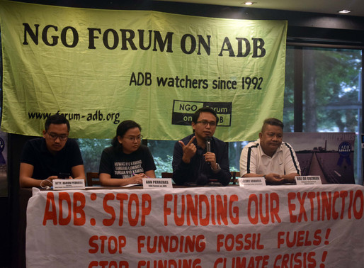 Groups hit ADB for 'coal legacy' and continued fossil fuel investments