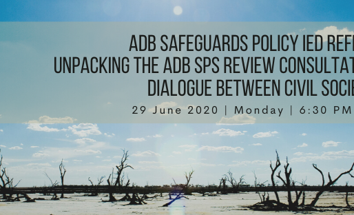 ADB Safeguards Policy IED Reflections and Unpacking the ADB SPS Review Consultation Process
