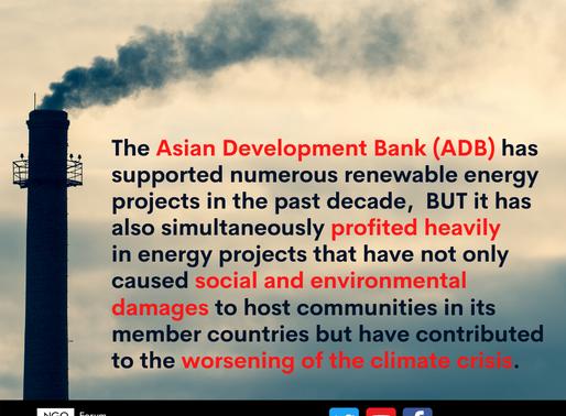 ADB should end fossil fuel financing