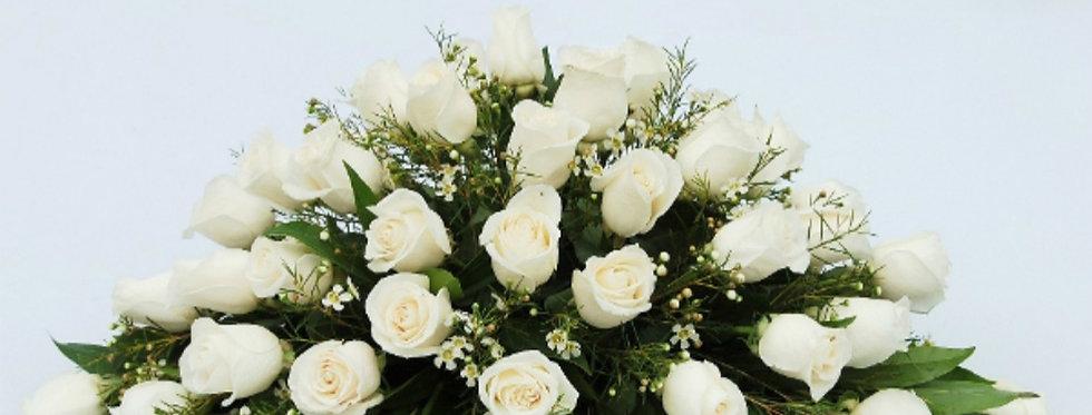 Cojín 36 rosas (color a elegir)