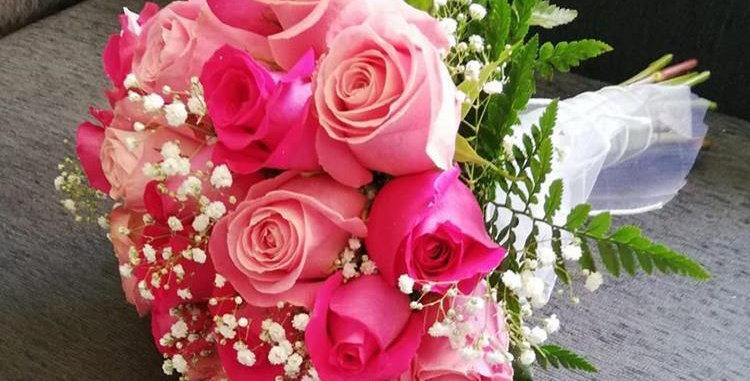 Ramo rosas novia