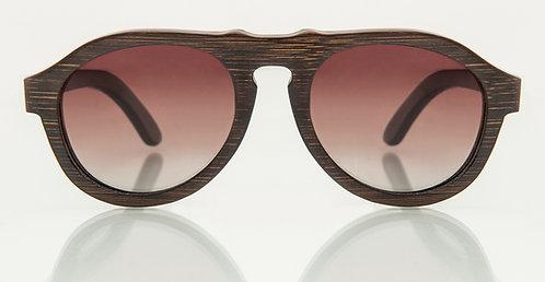 Panama Bamboo Brown Gradient Lens