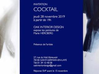 Exposition à OAK INTERIOR DESIGN