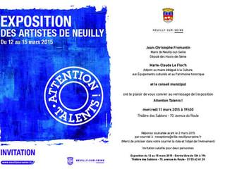 Exposition des artistes de Neuilly
