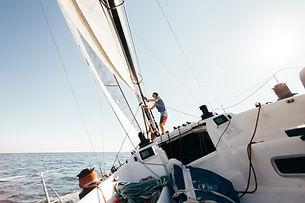 pont-voilier-professionnel-yacht-course-