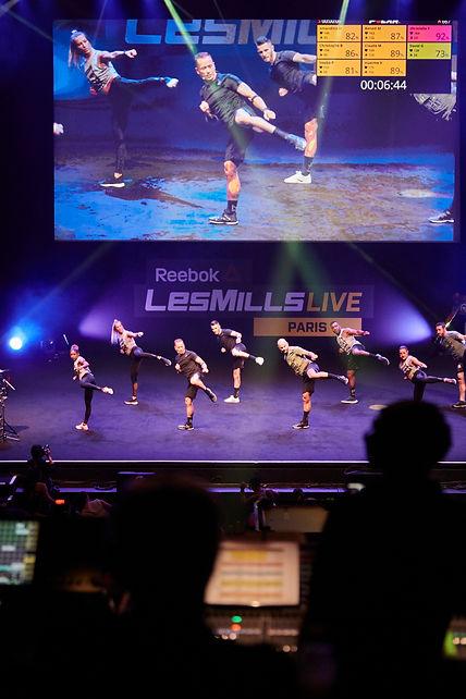 POLAR - REEBOK - Les Mills Live PARIS-al