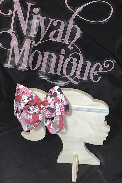 Minnie Mouse baby Valentines