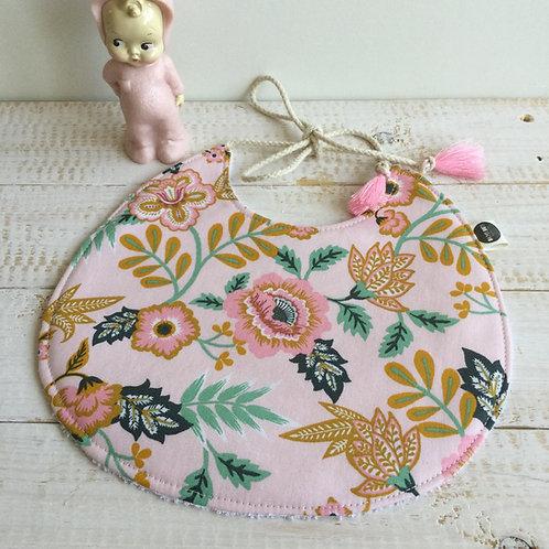 Babete rosa floral