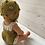 Thumbnail: Boneca com touca e fofo mostarda/crú
