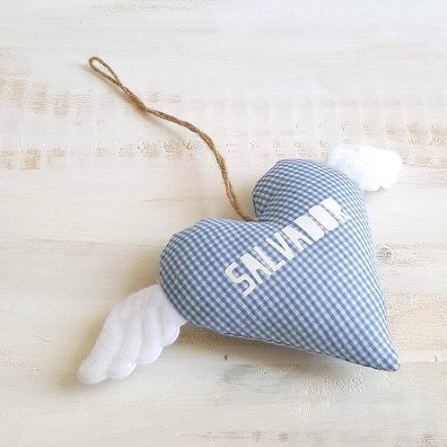 Coração com asinhas *Salvador*