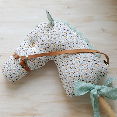 Cavalinho de Pau Multicolorido