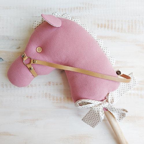 Cavalinho de Pau  rosa