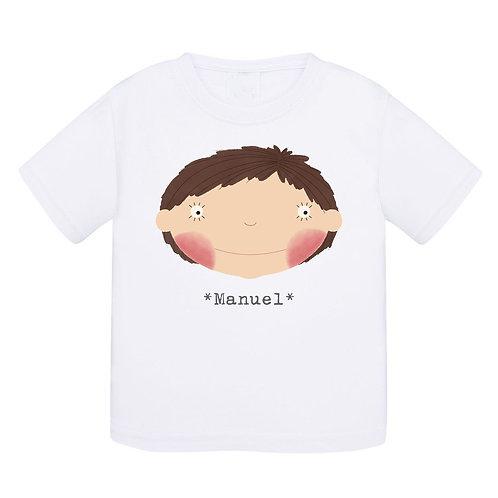 T-shirt  bébé *menino*