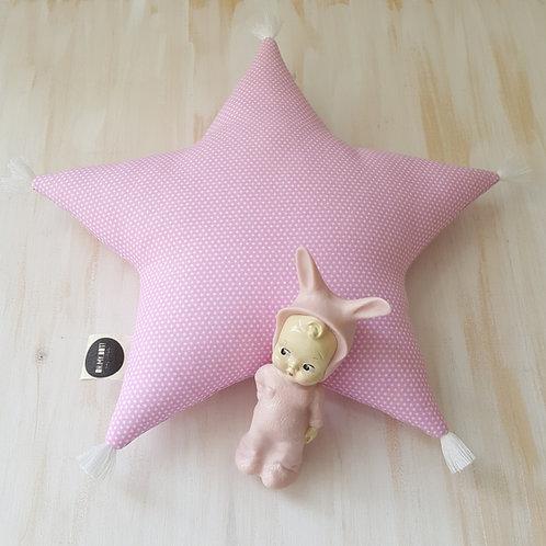 Almofada rosa *pintinhas*