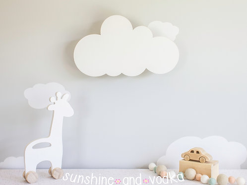 Cloud Night Light, Nursery Wall Decoration, Kids Room Light, Cloud Nursery Decor