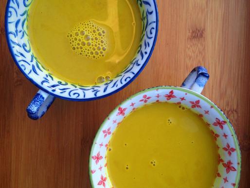 Healing Golden Turmeric Elixir
