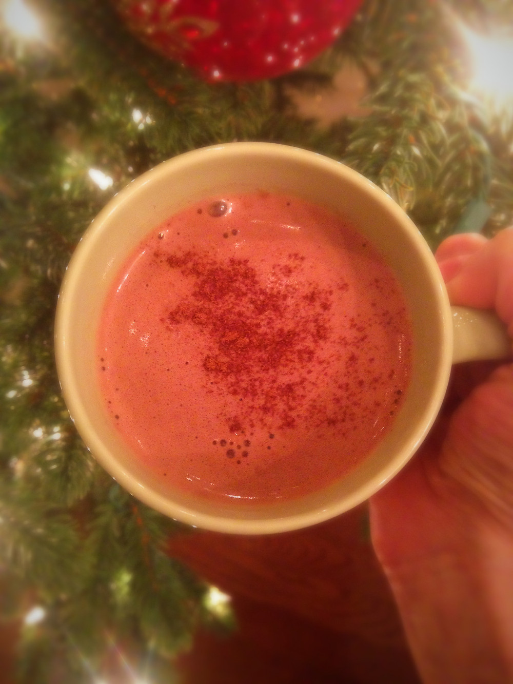 Tahini Hot Chocolate