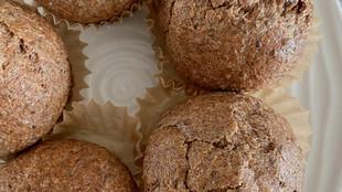 Sugar-Free Cinnamon Flax Muffins