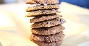 Grain-Free and Nut-Free Tahini Chocolate Chip Cookies