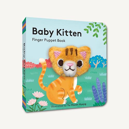 Finger Puppet Book - Baby Kitten