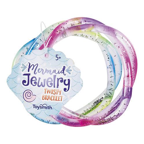 Toysmith - Mermaid Twisty Bracelets - COLORS WILL VARY