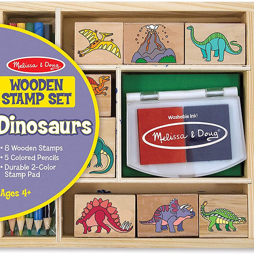 Melissa & Doug - Dinosaur Stamp Set