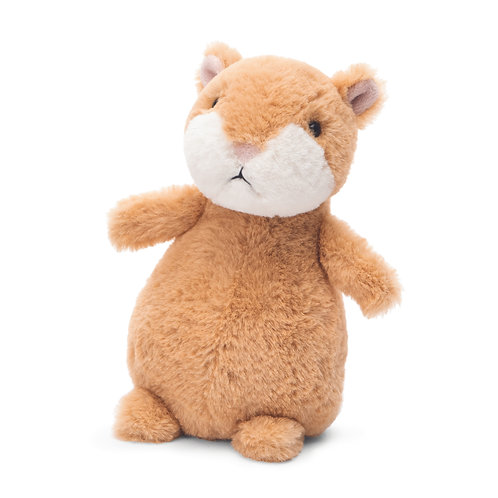 Jellycat - Happy Hamster - Cinnamon 7""