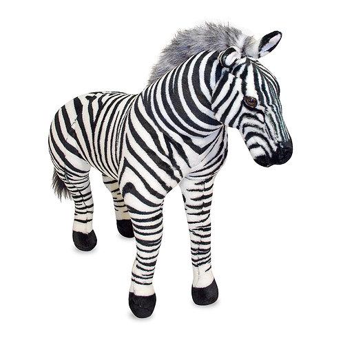 Melissa & Doug - Zebra Giant Stuffed Animal