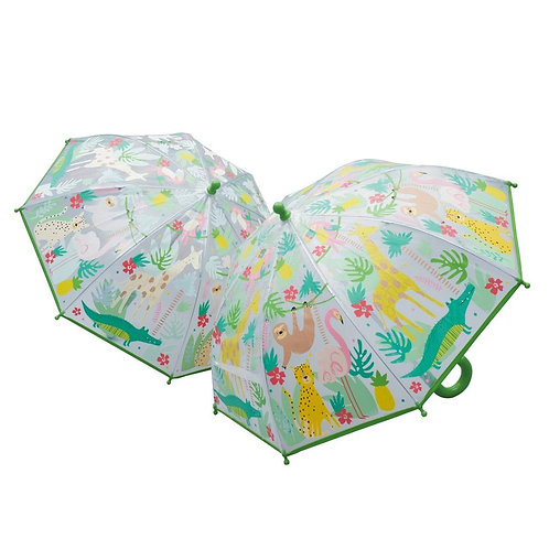 Floss & Rock - Jungle Color Changing Umbrella