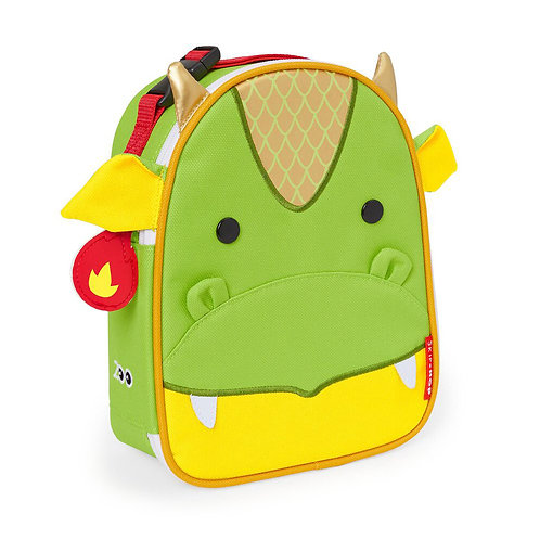 Skip Hop - Zoo Lunchie Insulated Kids Lunch Bag - Dragon