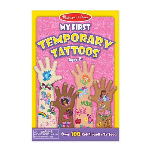 Melissa & Doug - My First Temporary Tattoos - Pink