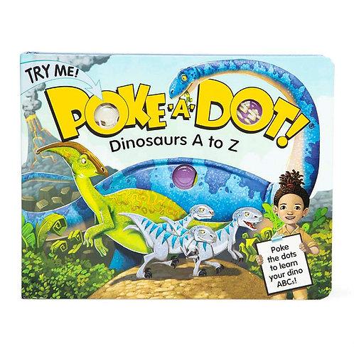 Melissa & Doug - Poke-a-Dot - Dinosaurs A to Z Board Book