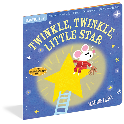 Workman Publishing - Indestructibles - Baby Books - Twinkle Twinkle Little Star