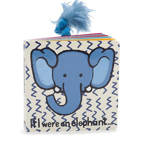 Jellycat - If I Were an Elephant - Board Book