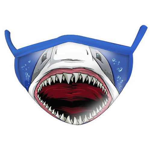 Wild Republic - Shark Wild Smiles Childs Face Mask